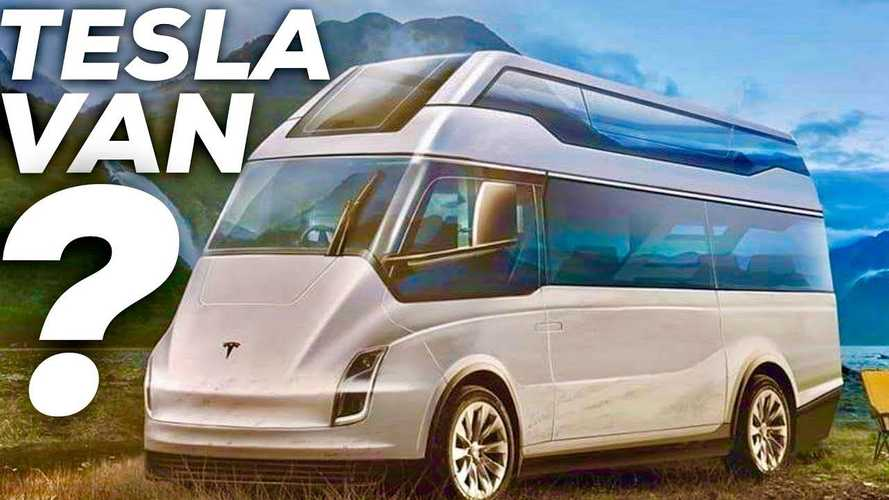 Elon Musk To Joe Rogan: Tesla Electric Van Could Have Massive Solar Array