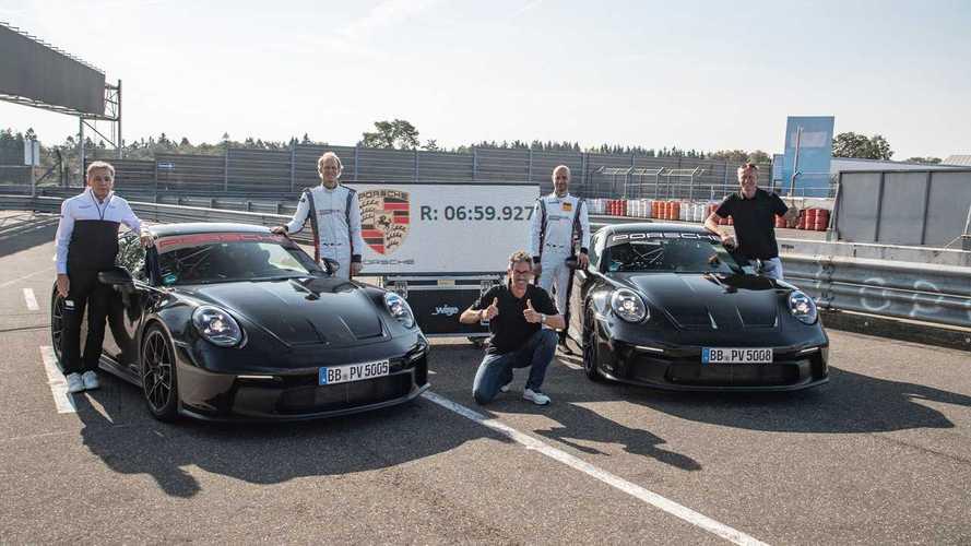Porsche 911 GT3 - Embarquez pour un tour du Nürburgring à fond !