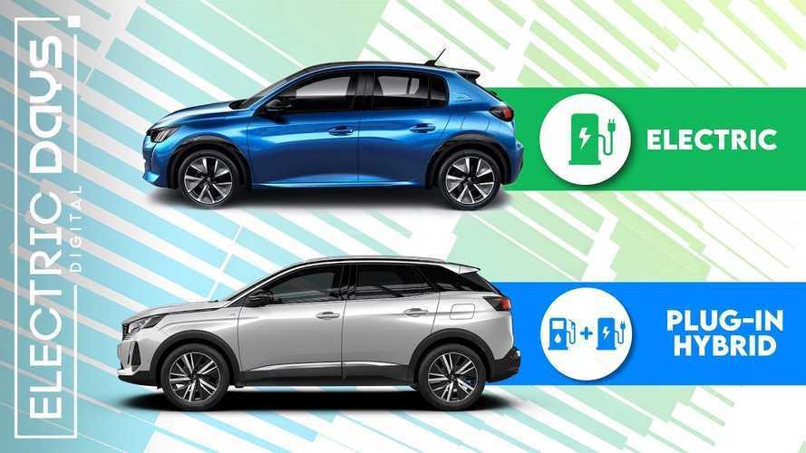 Tutte le Peugeot elettrificate, quale scegliere?