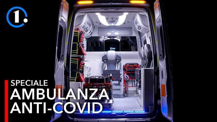 Tutti i segreti della Sprinter Life 3, l'ambulanza anti-coronavirus