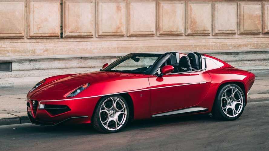 Una Alfa Romeo Disco Volante Spyder è in vendita