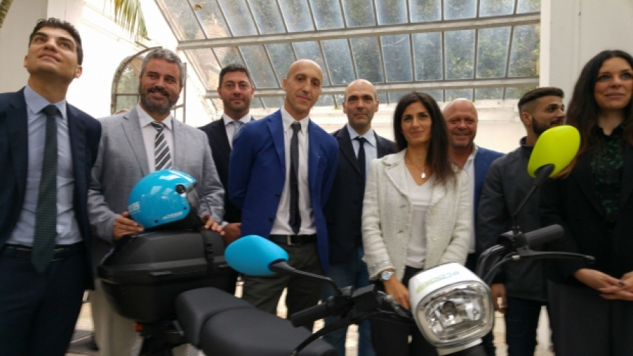 eCooltra, a Roma lo scooter sharing raddoppia