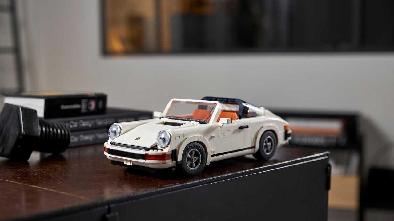 Porsche 911 Turbo y Targa de Lego set