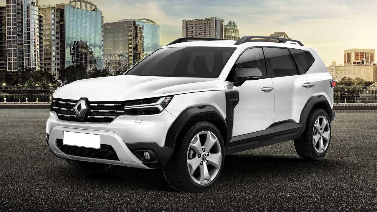 Renault Bigster - Projeção