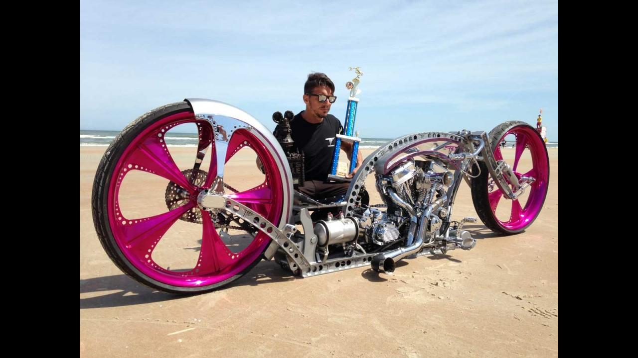 Moto de Tarso Marques vence evento de customização nos EUA