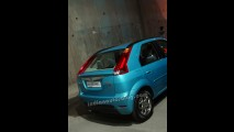 Hatch do Logan, Mahindra Verito Vibe é visto novamente na Índia