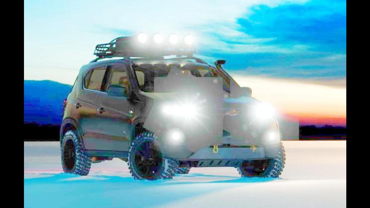 Chevrolet revela teaser do futuro Niva; estreia acontece em Moscou