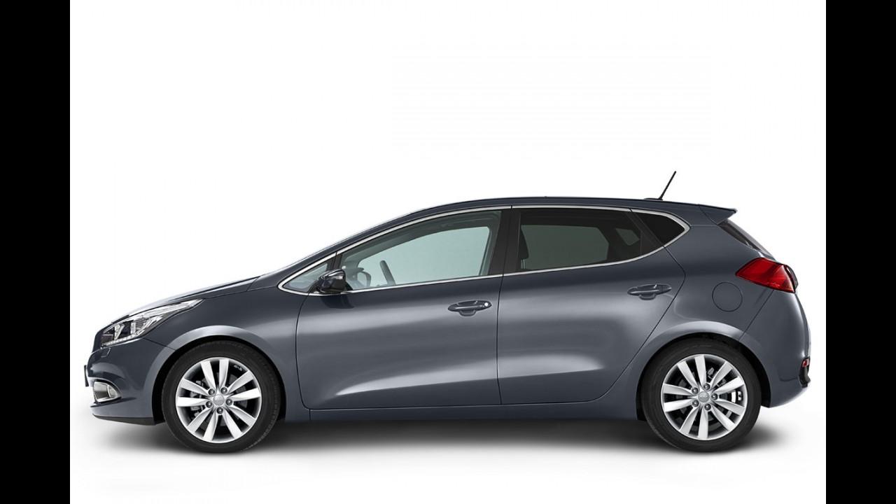 Kia revela mais detalhes da nova geração do hatchback Cee'd