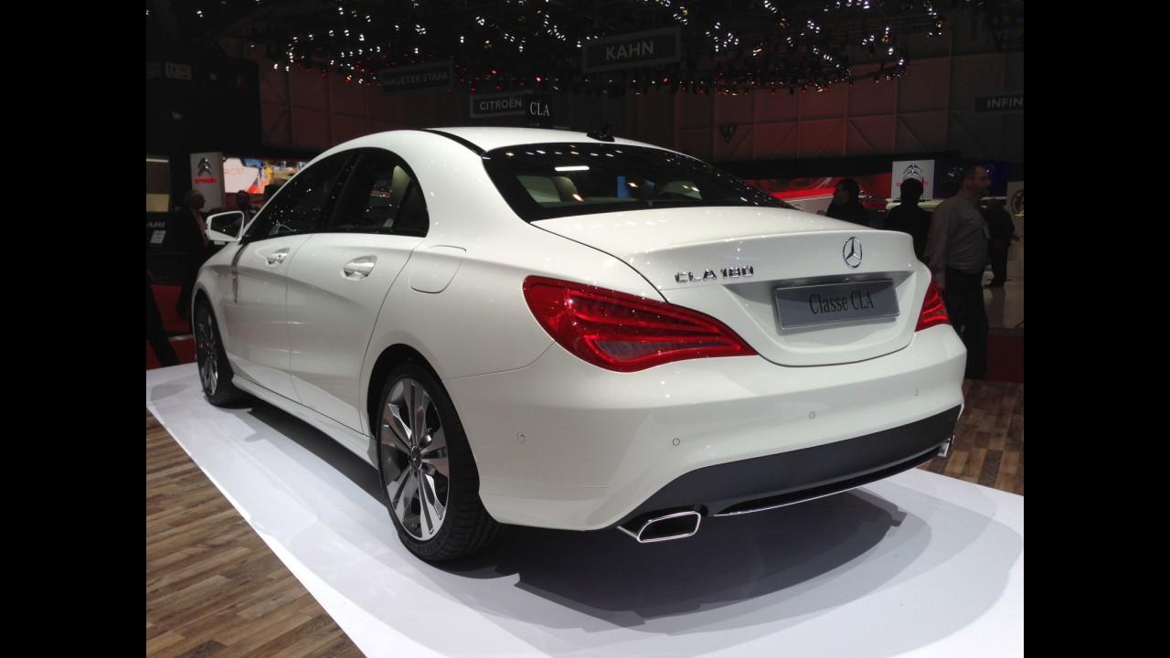 Direto de Genebra: estreante, Mercedes CLA chega ao Brasil em 2014