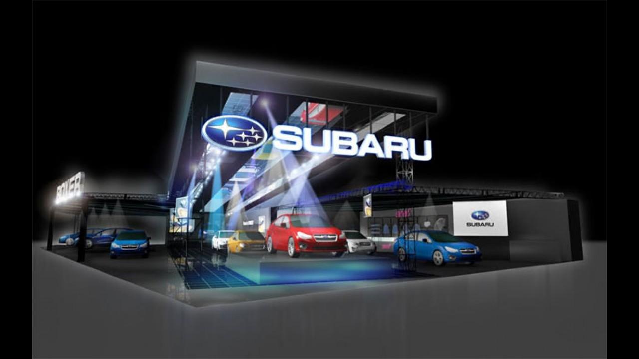 Subaru apresentará três conceitos no Tokyo Auto Salon 2015