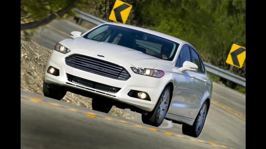 Ford Fusion 2013 alcança pontuação máxima em segurança nos EUA