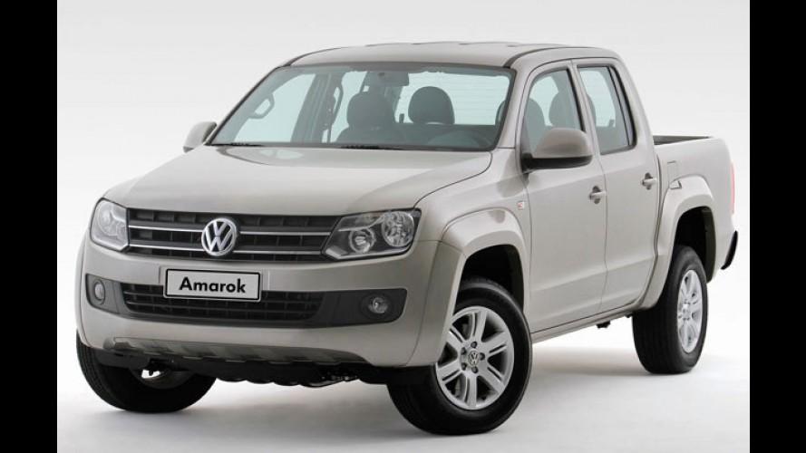 Volkswagen Amarok equipada com câmbio automático de oito marchas chega em 2012