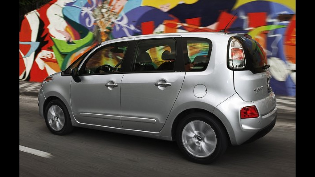 Novo Citroën C3 Picasso: Confira os itens de série de todas as versões