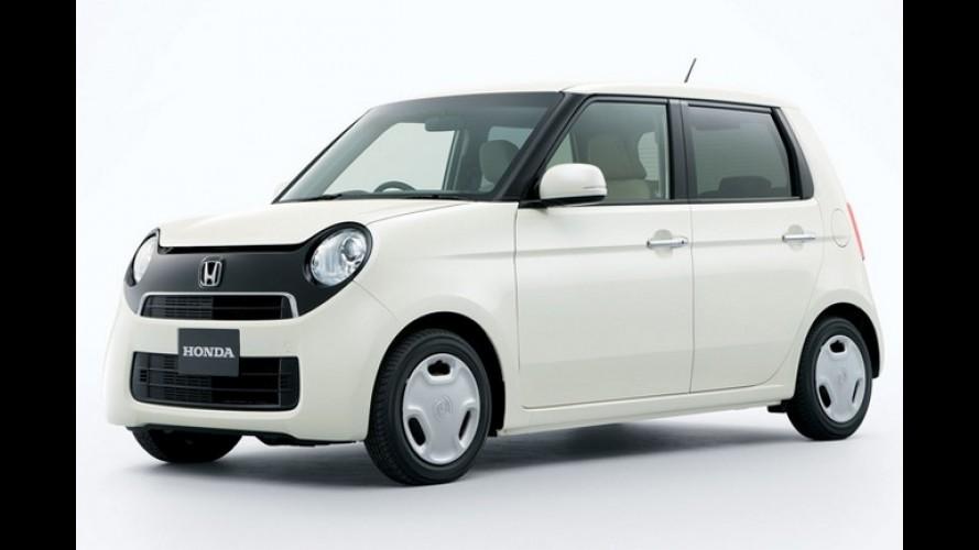 Honda N One - Minicarro será lançado no mercado japonês em novembro