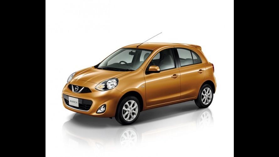 Nissan March ganha cara nova; veja imagens