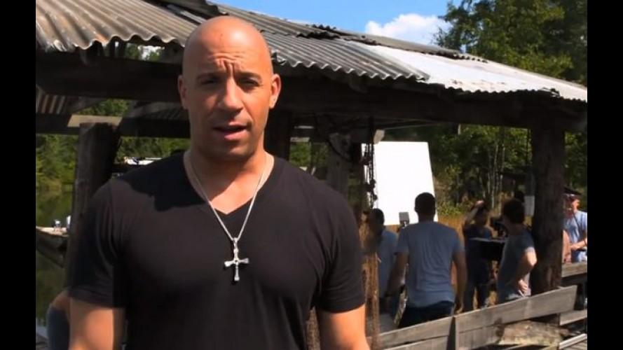 "Vin Diesel posta vídeo do primeiro dia das filmagens de ""Velozes e Furiosos 7"""