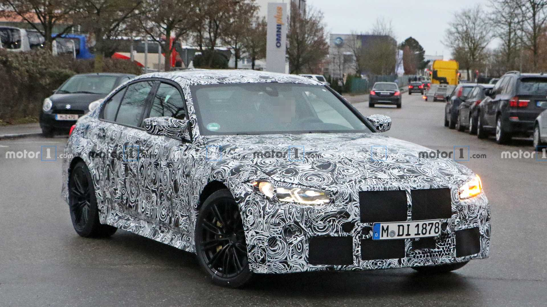 2021 Spy Shots BMW 3 Series Pricing
