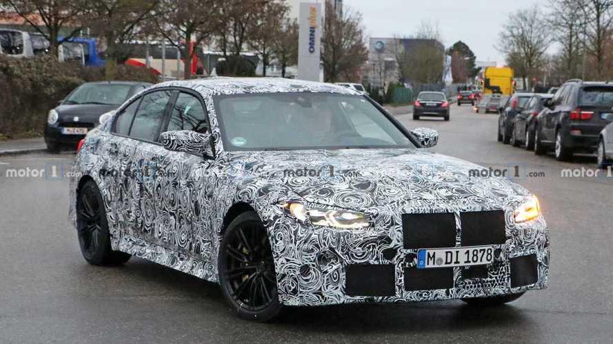 BMW M3 (2020) innen und außen mit neuen Details erwischt