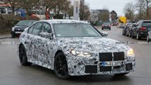 bmw m3 spied inside out
