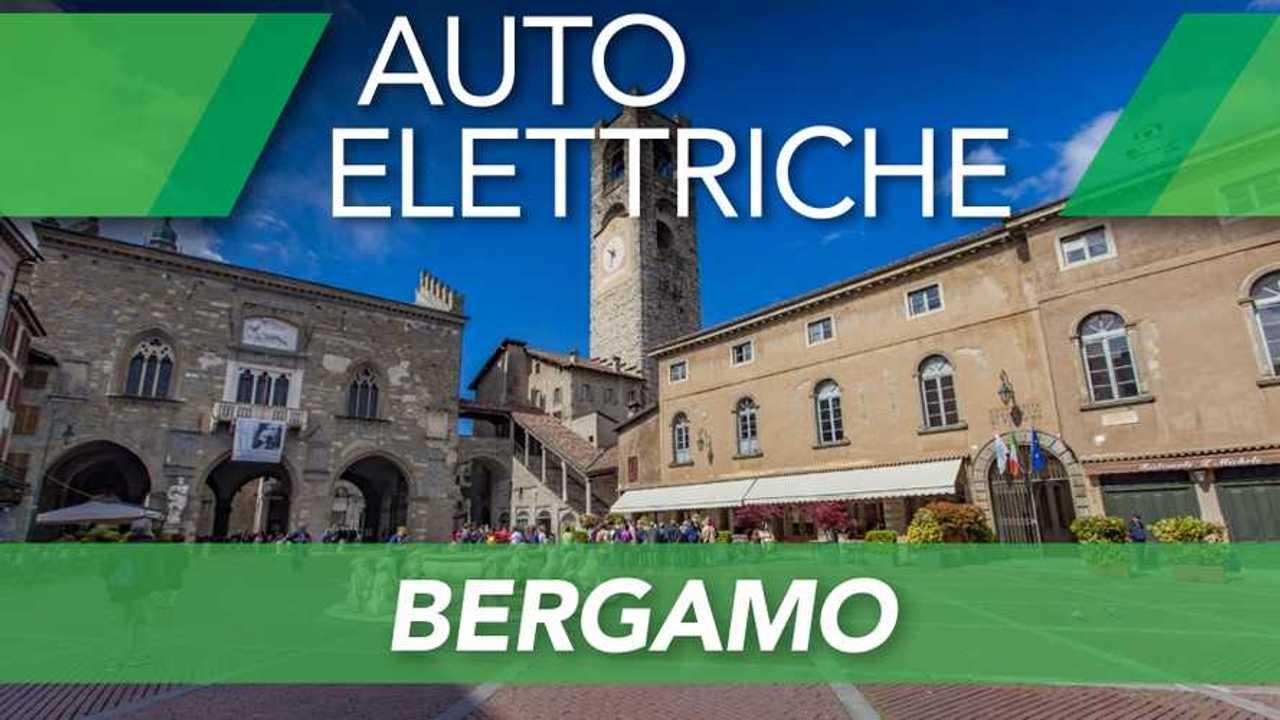 Auto elettriche a Bergamo, ZTL, strisce blu e altre agevolazioni