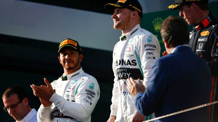 Hamilton says he felt pressure from 'Bottas 2.0'