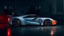 2020 Ford GT Heritage ve Liquid Carbon Edition