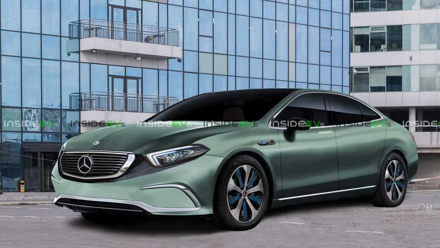 Mercedes-Benz EQE Rendering