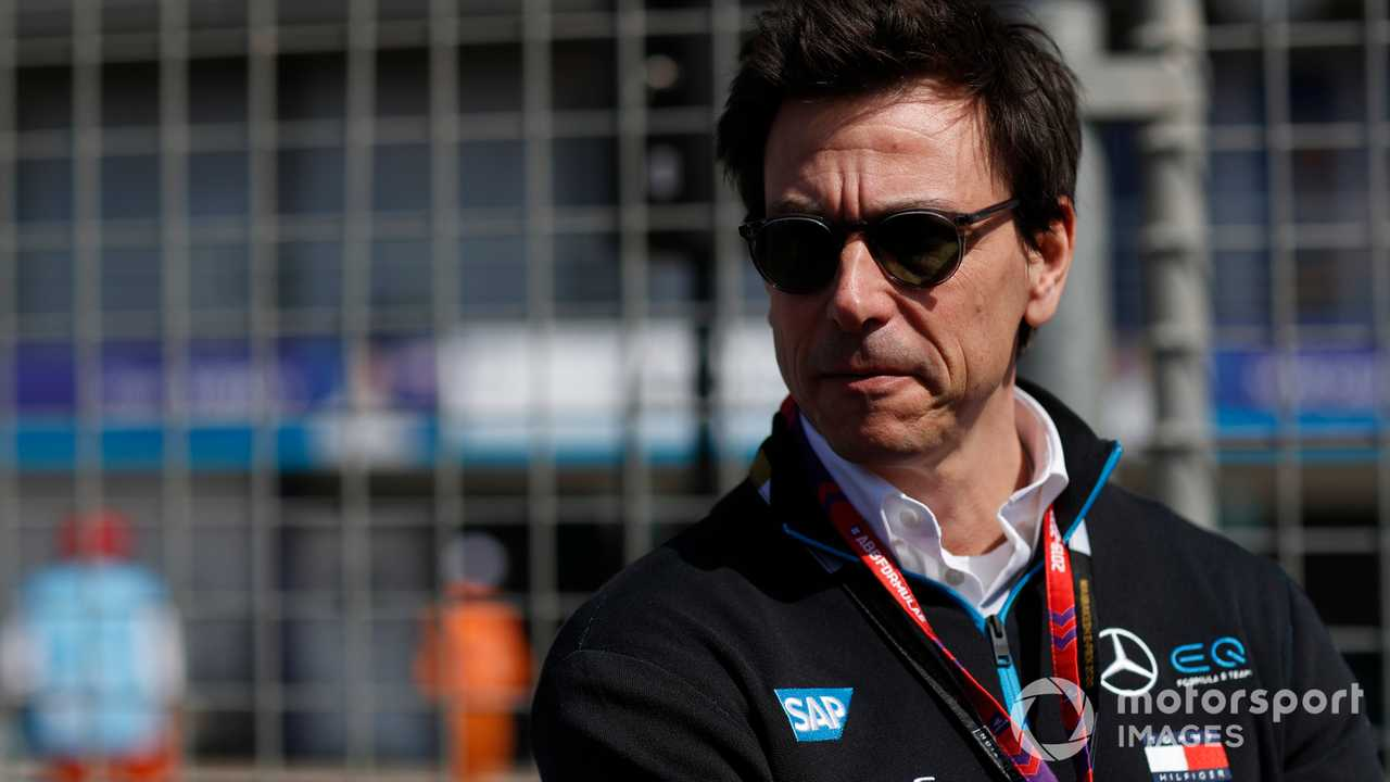 Toto Wolff at Marrakesh E-prix 2020