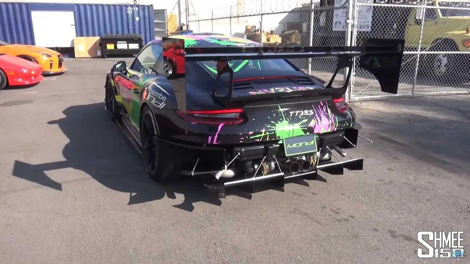 Custom Porsche 911 GT3 RS Twin Turbo