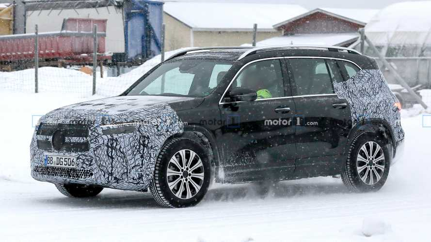 Mercedes EQB Spied Winter Testing In Sweden