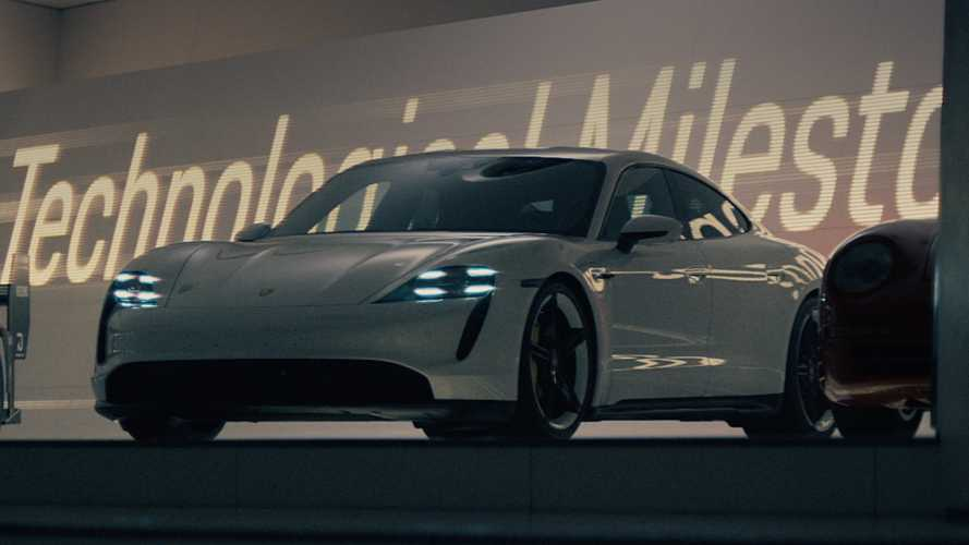 Porsche Super Bowl Commercial Stars Taycan, Race Cars, And A Ninja