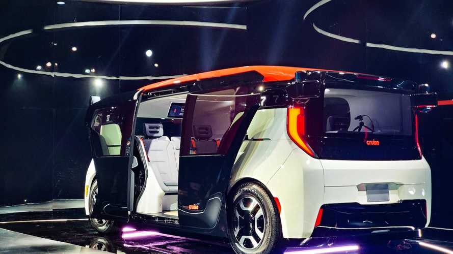 Cruise Origin - The EV robo-taxi of the future