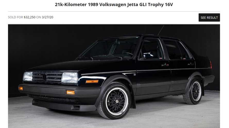 Someone Just Bought A 30-Year-Old VW Jetta For More Than A New GLI
