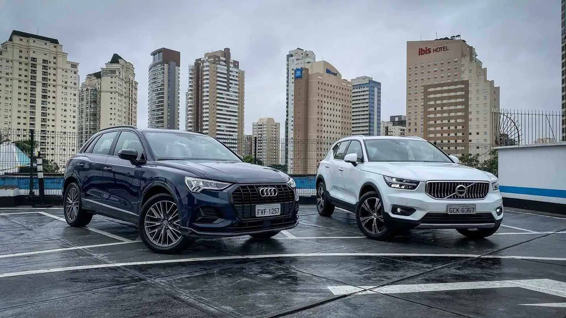 Comparativo: Novo Audi Q3 encara Volvo XC40 pela liderança ...