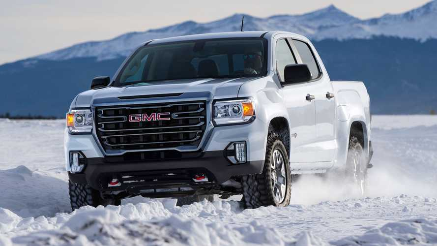 2021 GMC Canyon AT4 | Motor1.com Photos