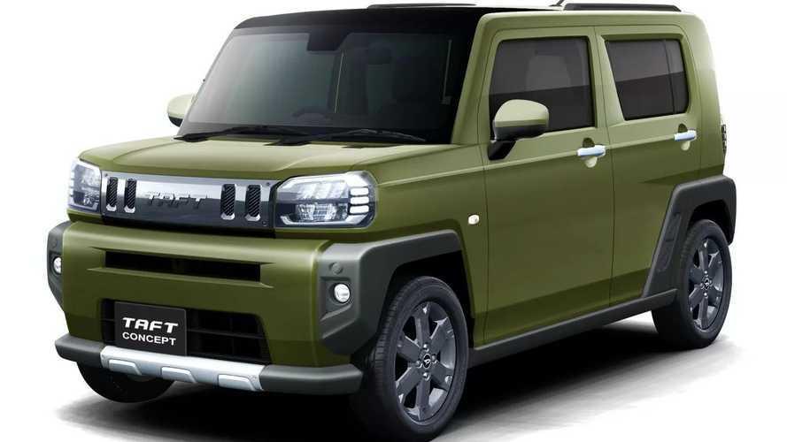 Daihatsu Taft konsepti Tokyo Otomobil Fuarı'nda görücüye çıktı