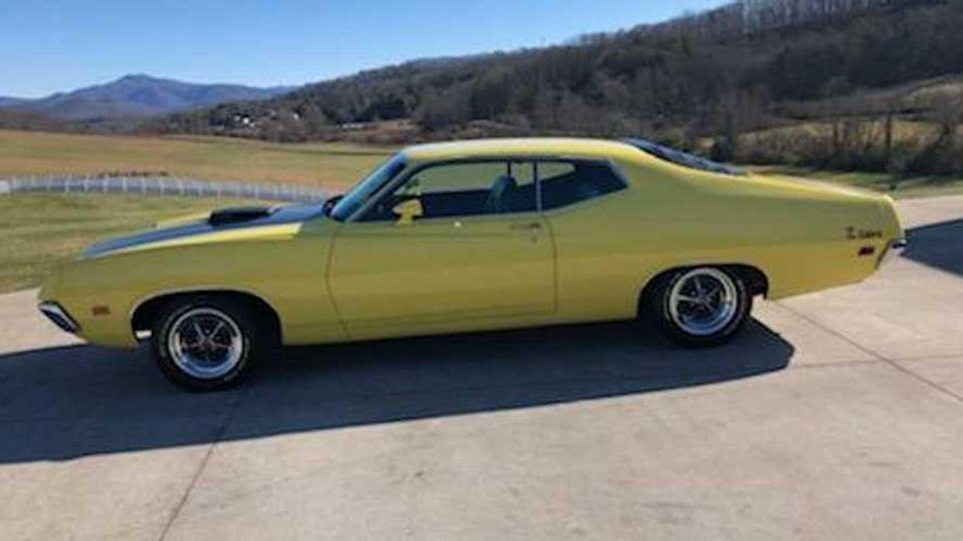 Grab This Unrestored 1971 Ford Torino Cobra Motorious