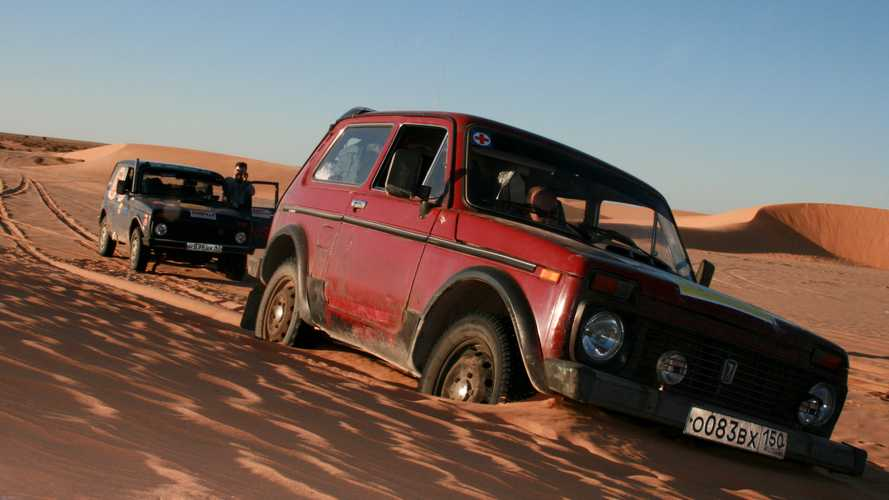 Lada Niva Africa Expedition