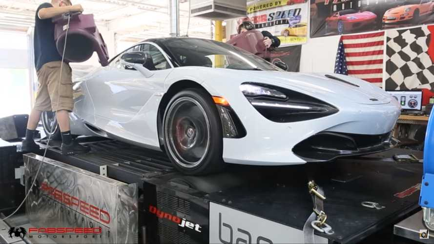 McLaren 720S Vs Ferrari Pista Dyno Battle Yields Interesting Results