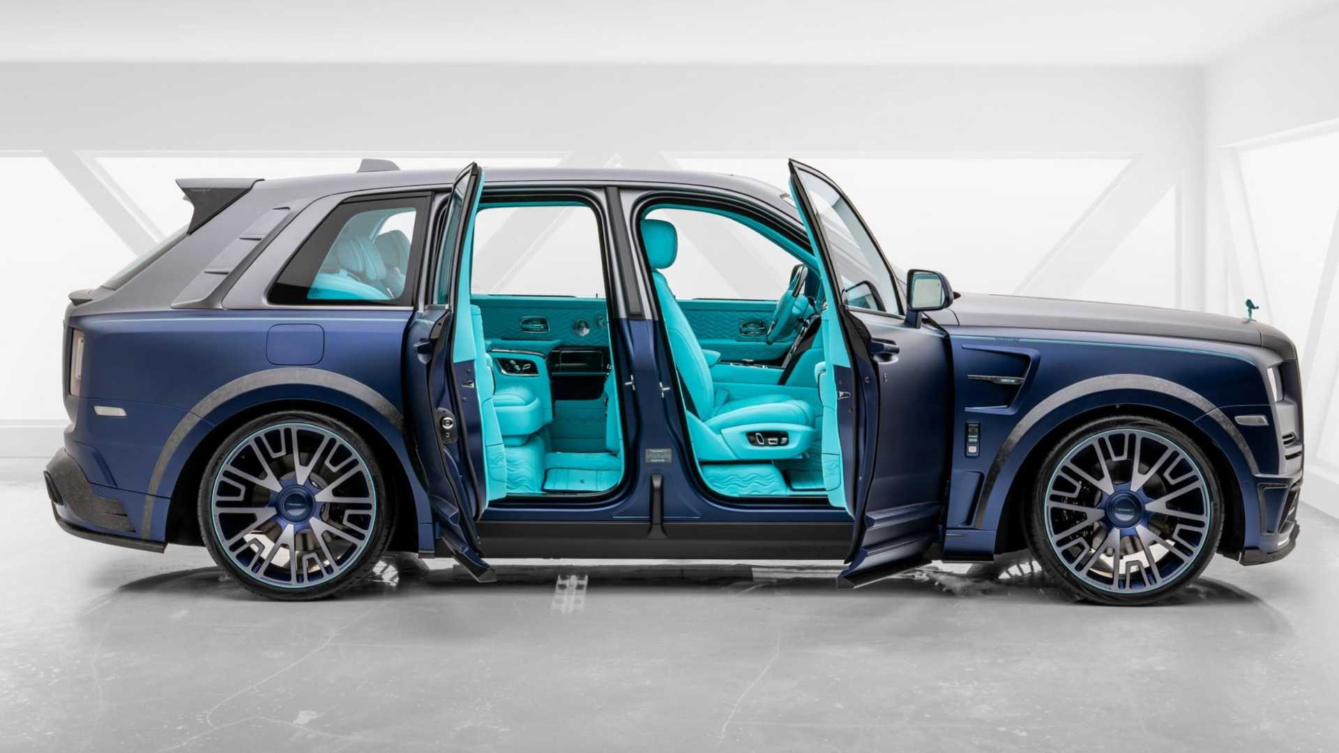 Rolls Royce Cullinan By Mansory Is Anything But Subtle