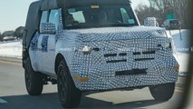 2021 Ford Bronco Detailed Spy Photos