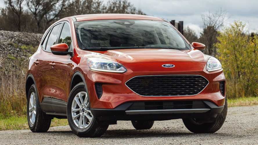 Ford Escape ST Performance Crossover Apparently Ruled Out