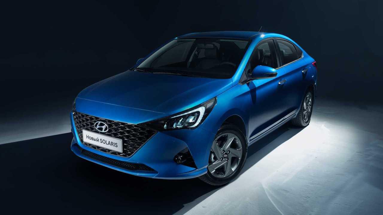 Обновленный Hyundai Solaris для России