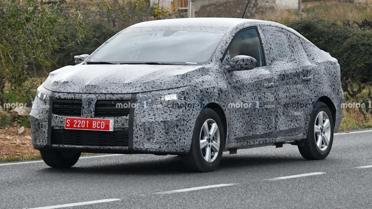 2021 Dacia Logan spy photo