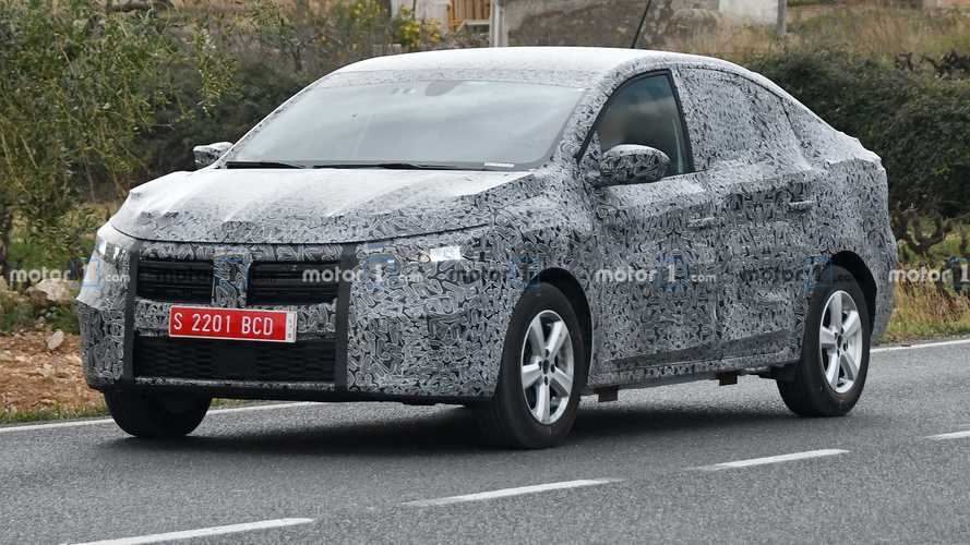 2021 Dacia Logan spied for the first time looking more upscale