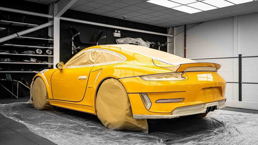 Porsche 911 GT3 RS gets 100 hours of body and paint pampering