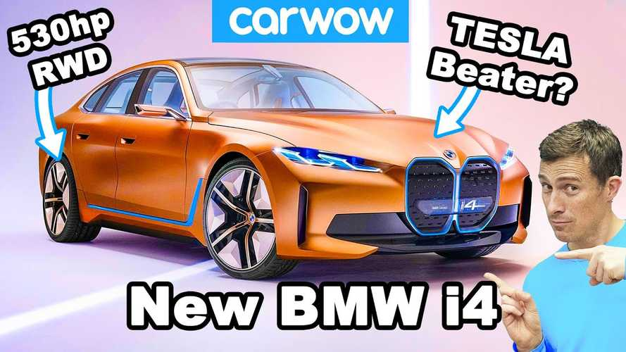 Is the BMW i4 just a 530 bhp German Tesla Model 3?
