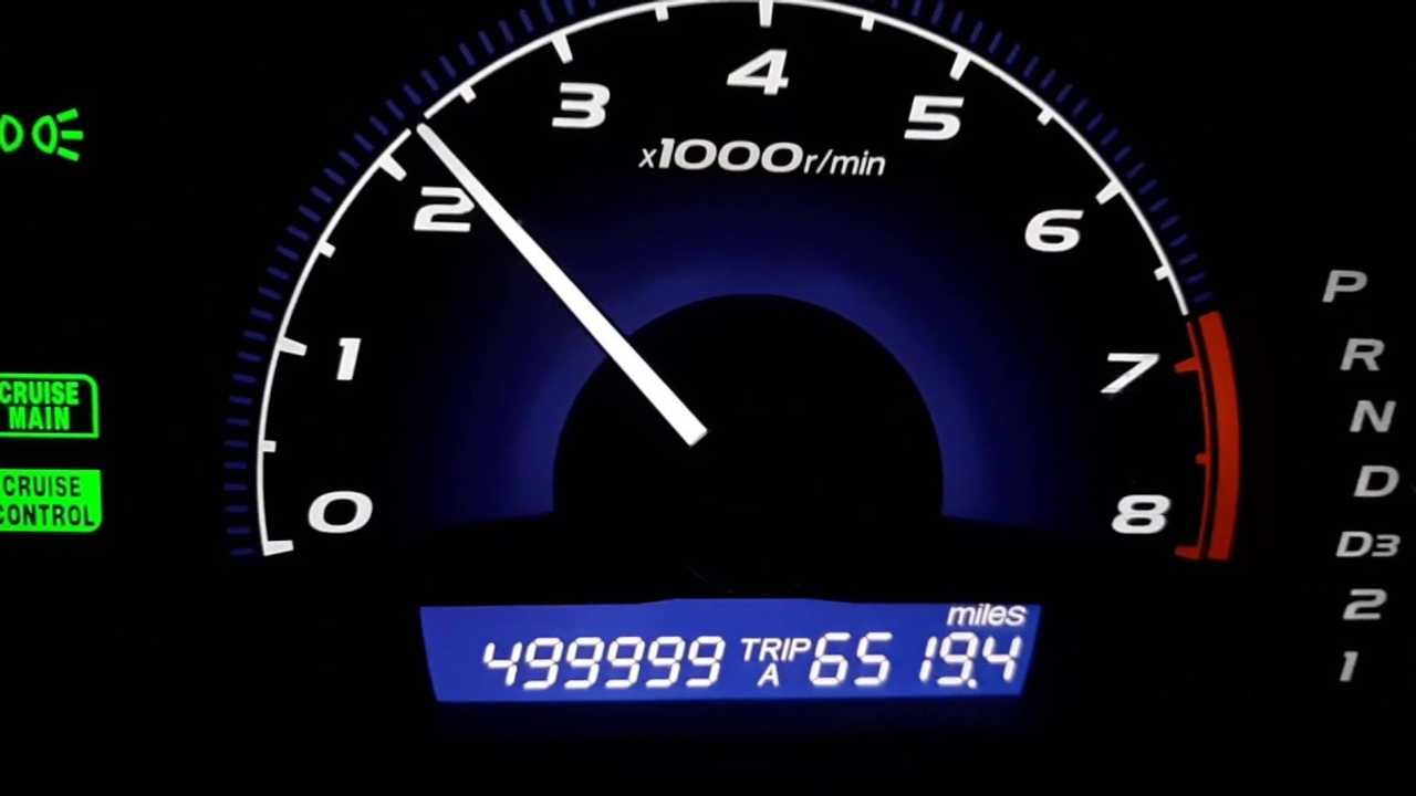 Civic 500,000 miles lead