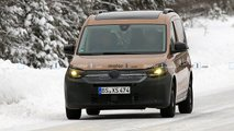 VW Caddy (2020) mit weniger Tarnung erwischt