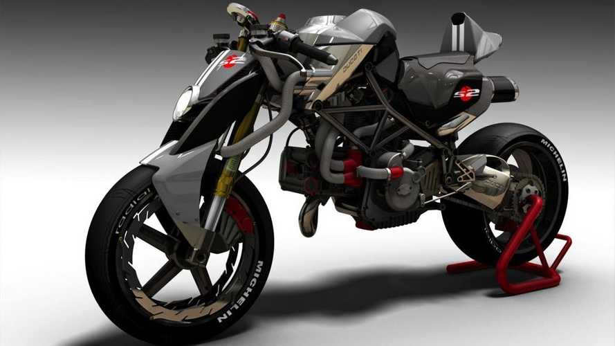 Automotive Designer Turns Ducati Monster Into A Monstrosity